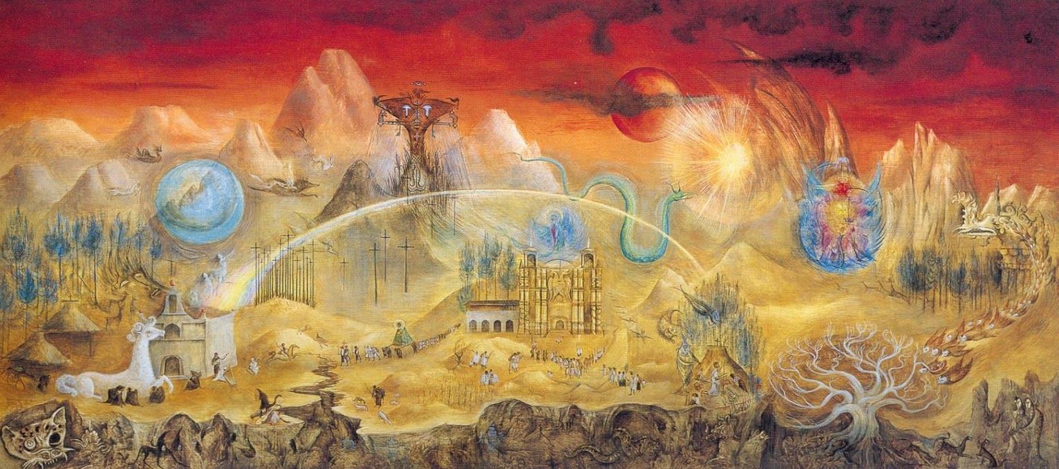 El Mundo Mágico de los Maya s, 1963. Leonora Carrington