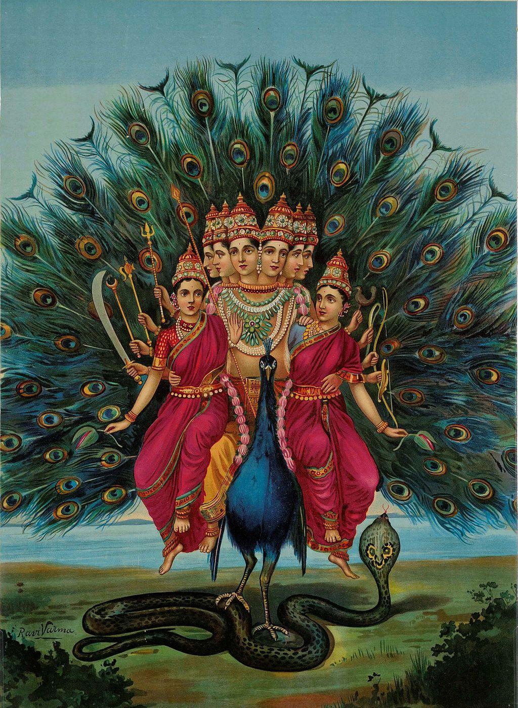 Kartikeya, Deidad de la India
