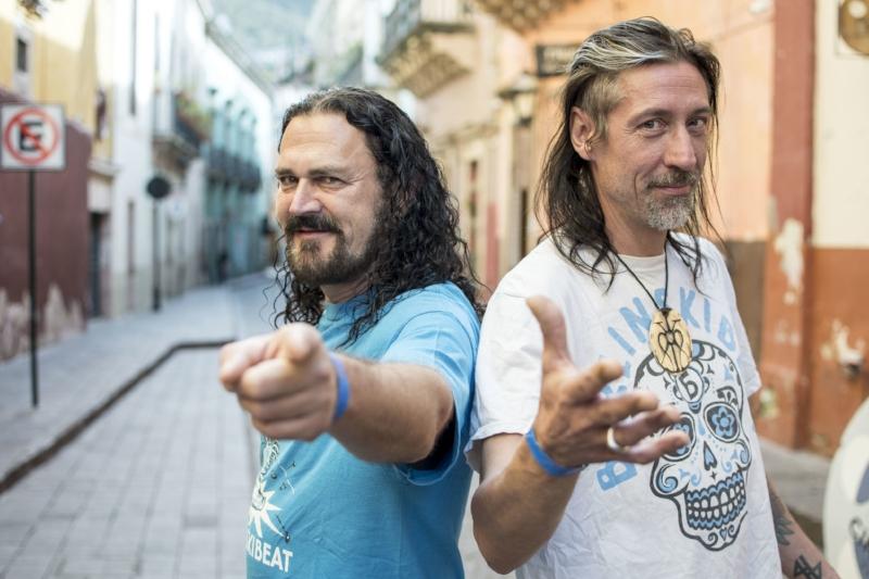 BerlinskiBeat en las calles de Guanajuato. Imagen vía: Festival Internacional Cervantino
