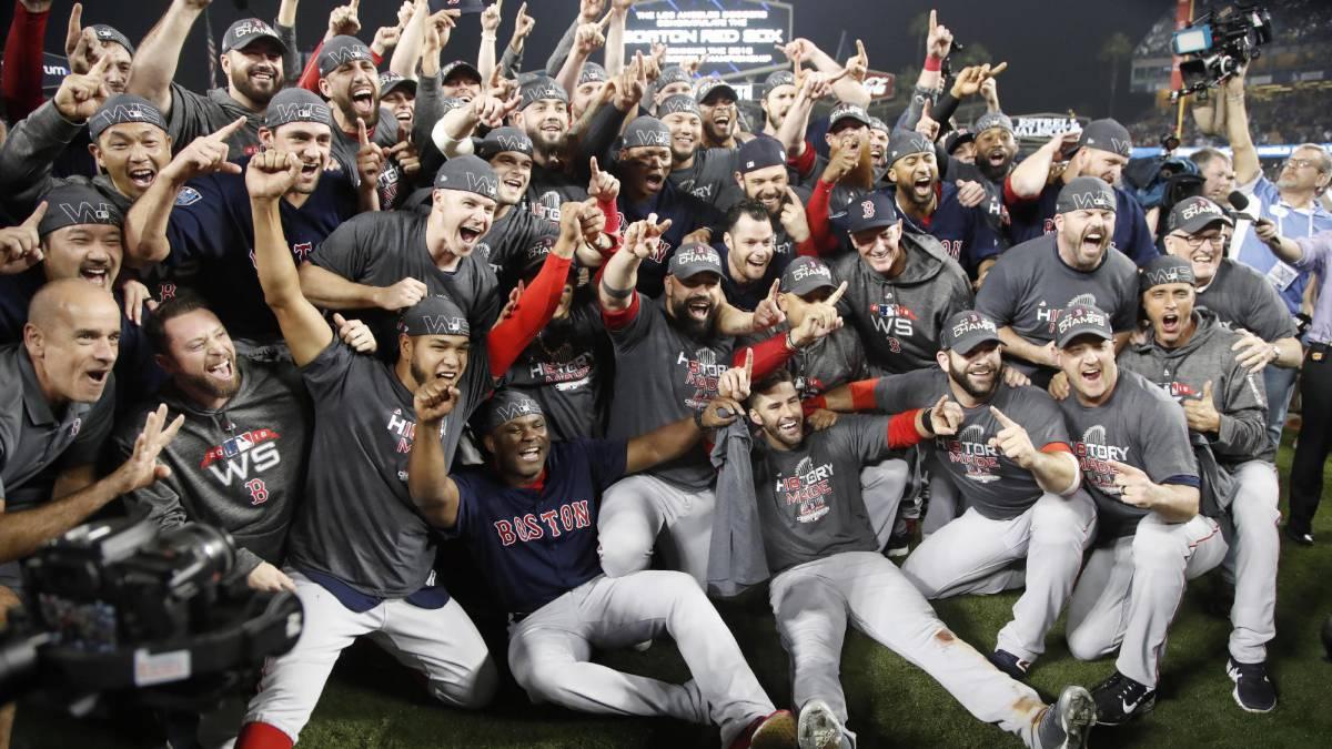 Boston Red Sox. Foto vía AS USA