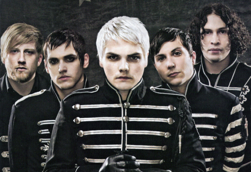 My Chemical Romance. Foto vía Consequence of Sound