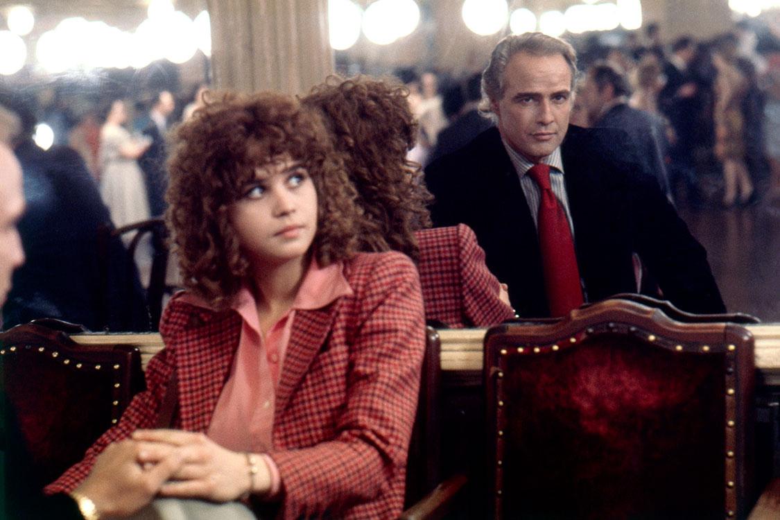 Maria Schneider y Marlon Brando en  Last Tango In Paris