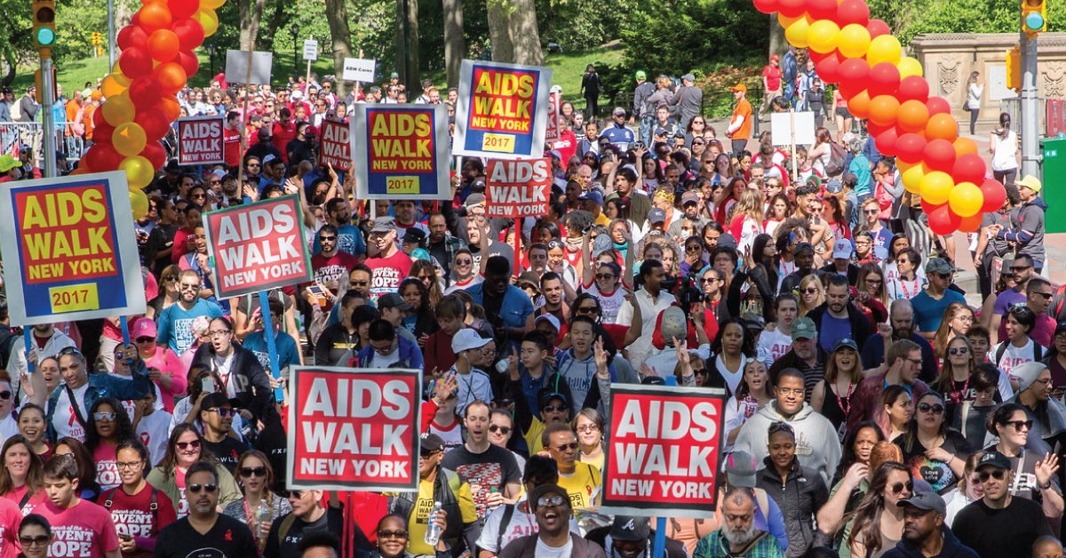 via AIDS Walk
