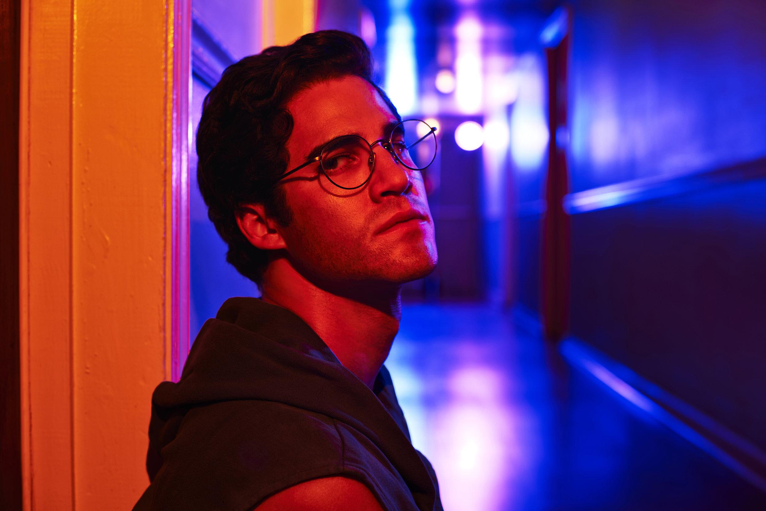 Darren Criss en   The Assassination of Gianni Versace  (FX)