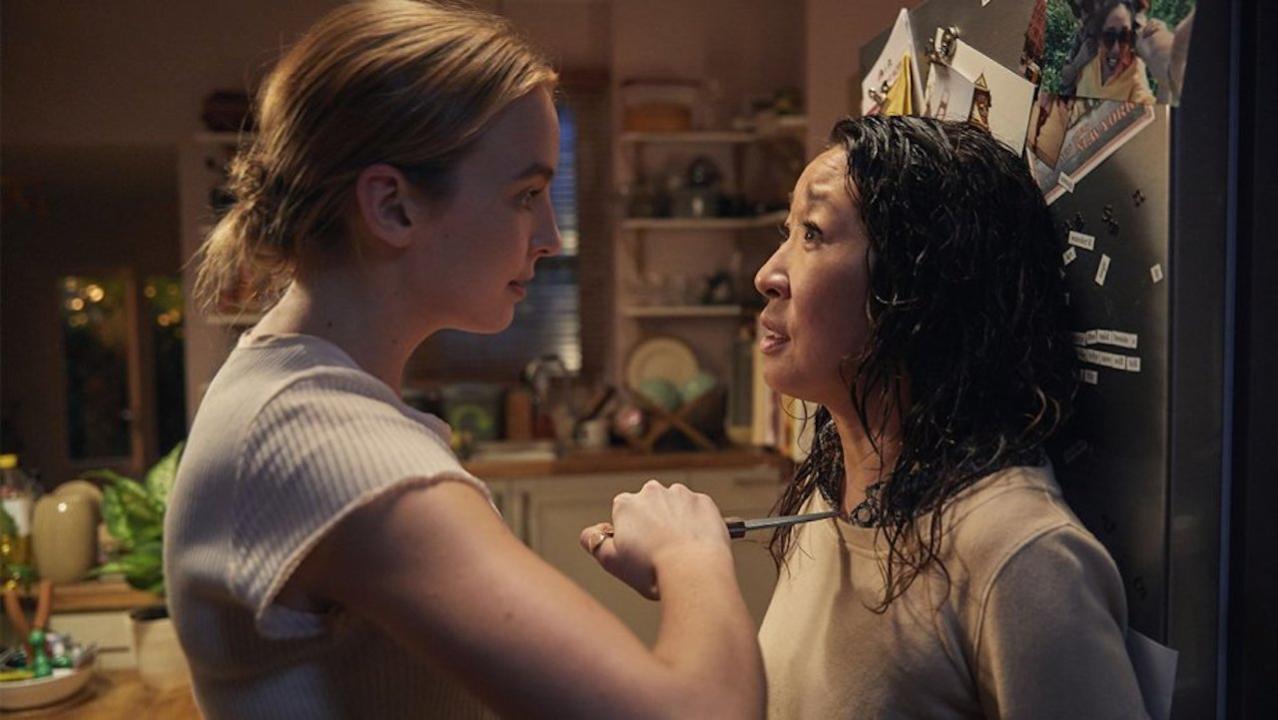 Jodie Comer y Sandra Oh en  Killing Eve  (BBC America)