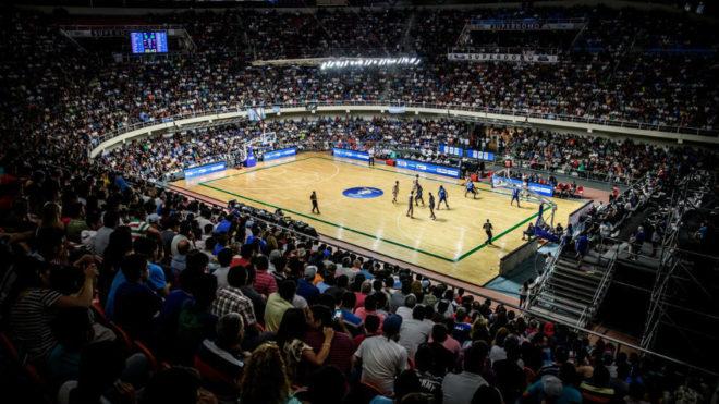 Estadio de basquetbol