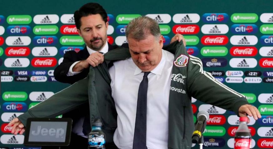 Gerardo Martino, nuevo director técnico de la Selección Mexicana.