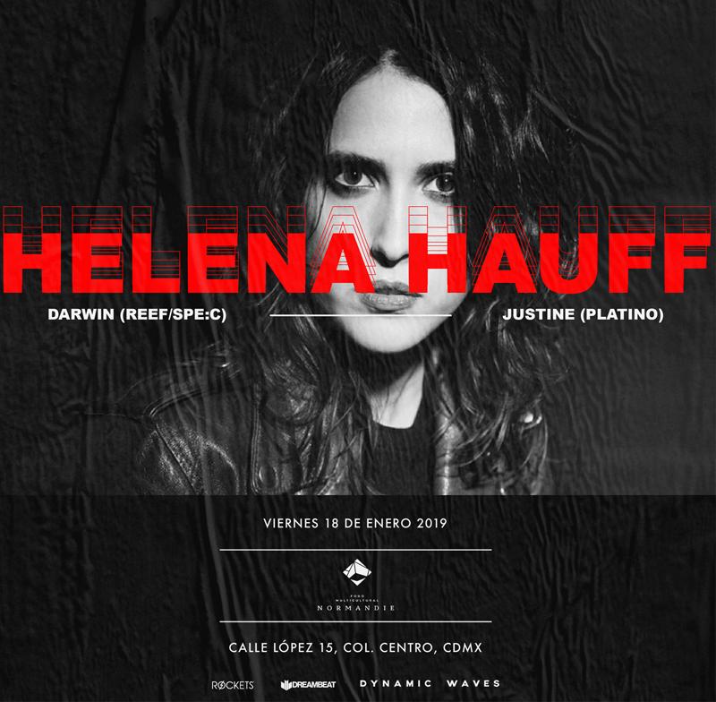 Helena Hauff se renueva