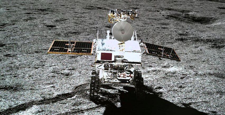 satélite, tierra, luna
