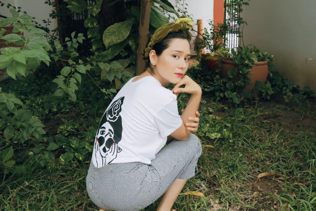 Elizabeth Valdivieso, voz y compositora, mitad de Valgur. Foto: La Mano Santa.