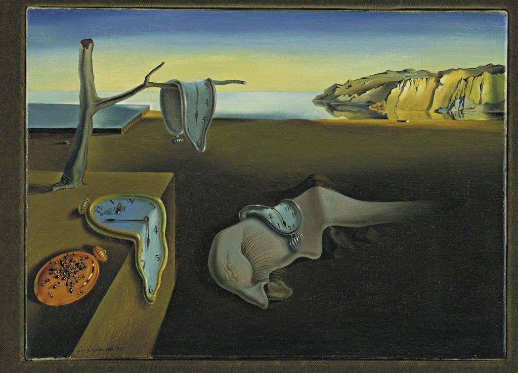 Persistencia de la memoria, Salvador Dalí, Museum of Modern Art.  Foto: Artsy