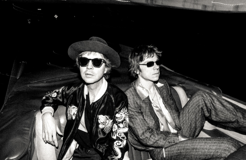 Beck y Matt Shultz de Cage The Elephant