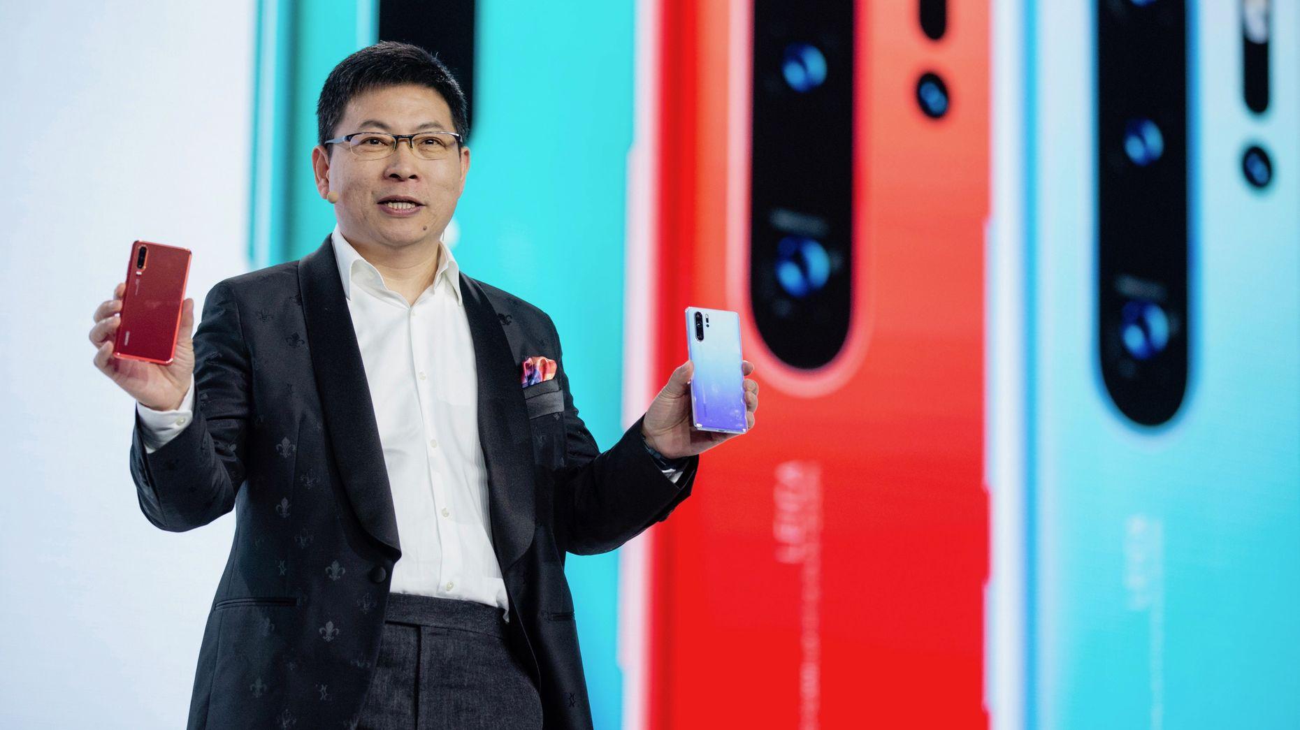 Richard Yu, Jefe de Negocio de Consumo de Huawei. Foto vía: The Information