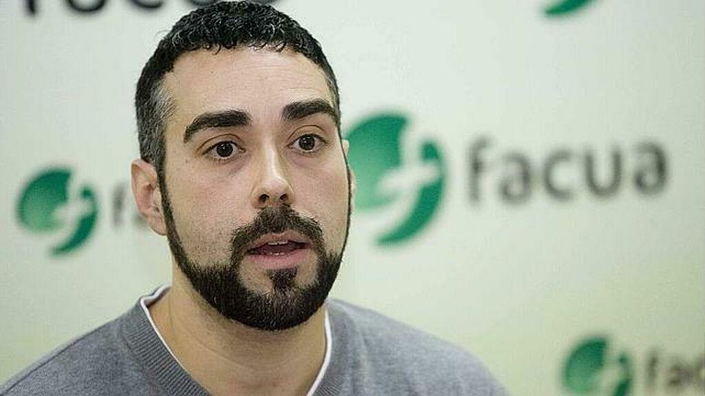 Rubén Sánchez, portavoz de FACUA. Fuente: El Español