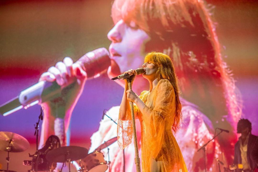 Florence + The Machine 2019 Palacio de los deportes CDMX Florence Welch