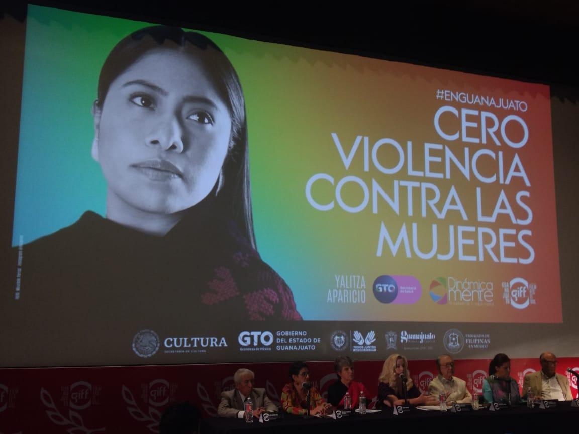 Conferencia de prensa GIFF19 Foto: Edgar Martínez