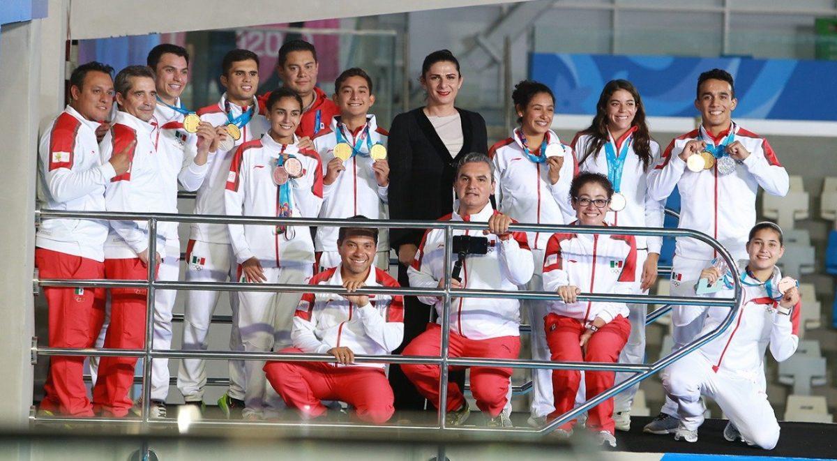Delegación mexicana en los Juegos Panamericanos Lima 2019. Foto: CONADE.