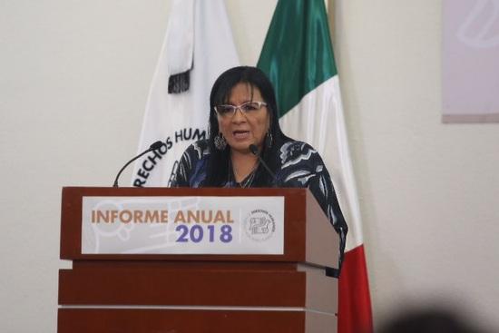 Nashieli Ramírez, titular de la CDHDF.
