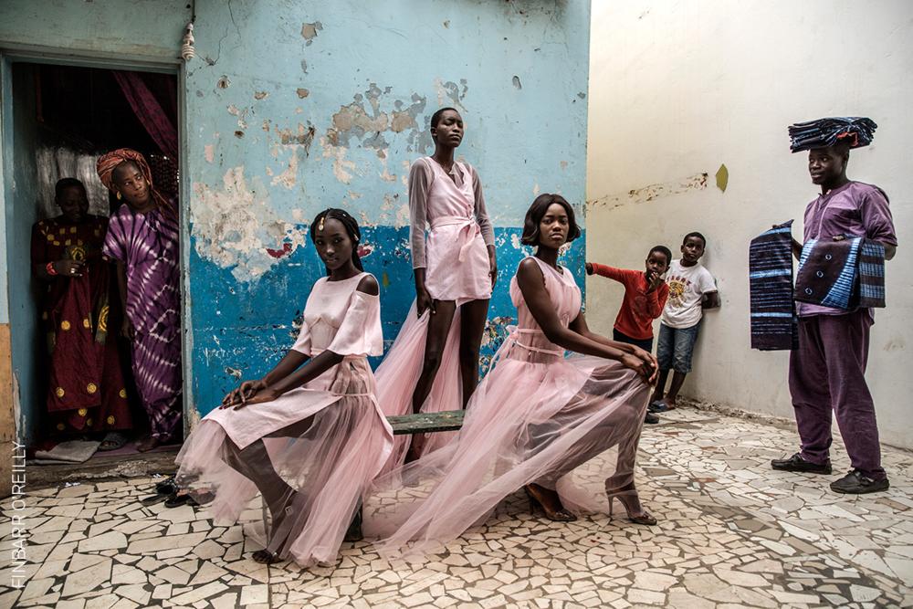 ©  Finbarr O'Reilly,  Dakar Fashion / World Press Photo 2019.
