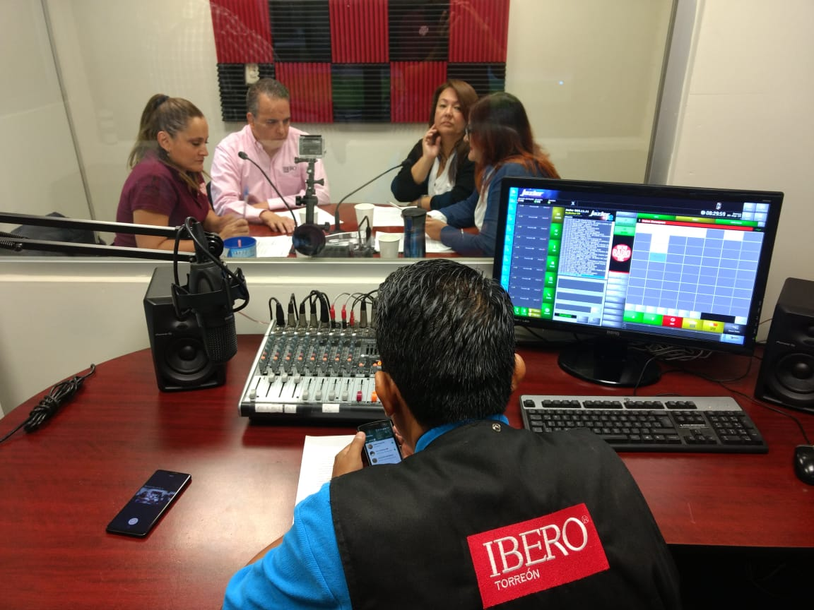 Ibero Radio TRC. Imagen: Cortesía.