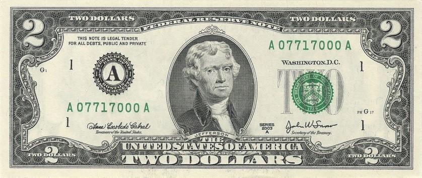 Thanks, but no thanks, Thomas Jefferson