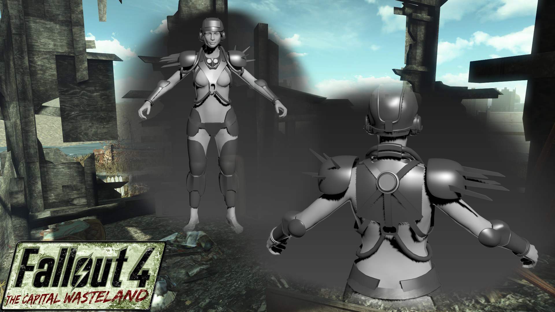 XGamer has been hard at work on blocking out the Metal Armor set.