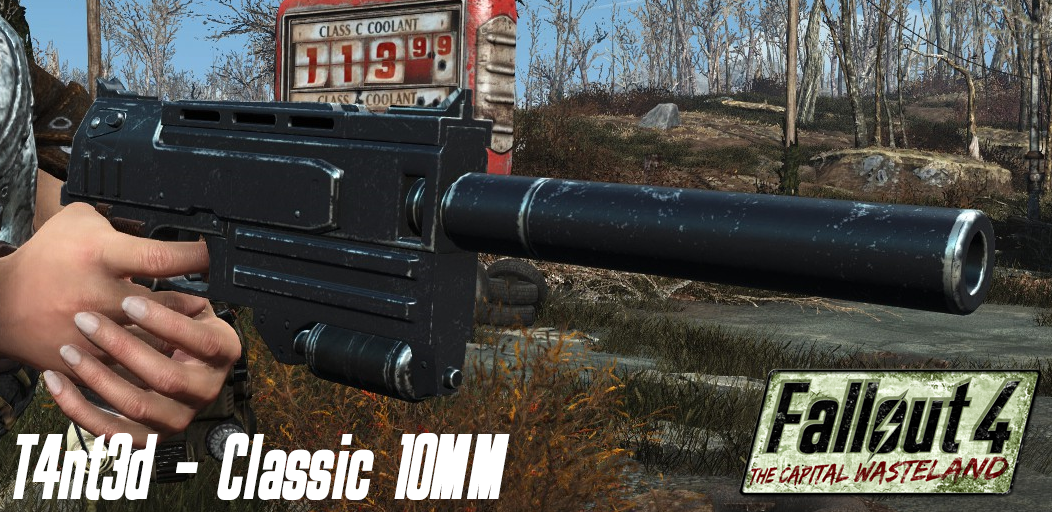 The Classic N99 10mm Pistol has returned thanks to the talented (but not 'Talented') T4nt3d!