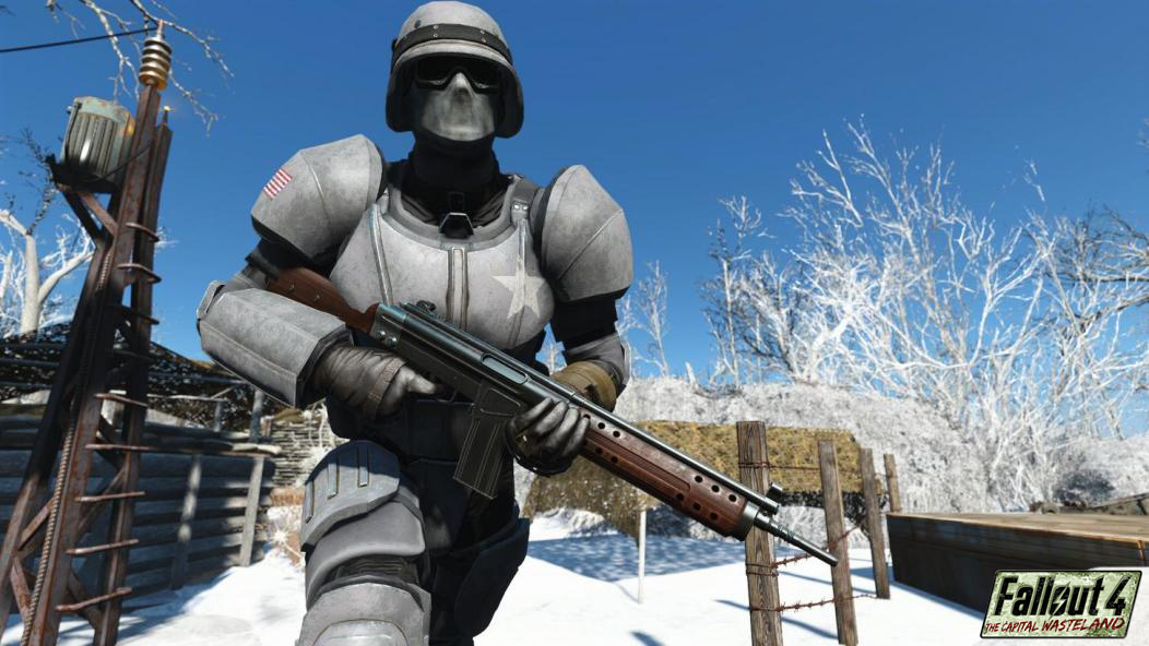 It should be noted that this is to show off the Combat Armor, and not a showcase of anything Operation: Anchorage related. Read the FAQ for more.