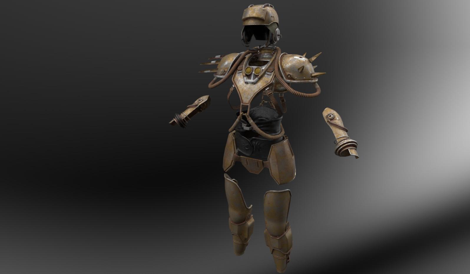 Metal Armor by XGamer
