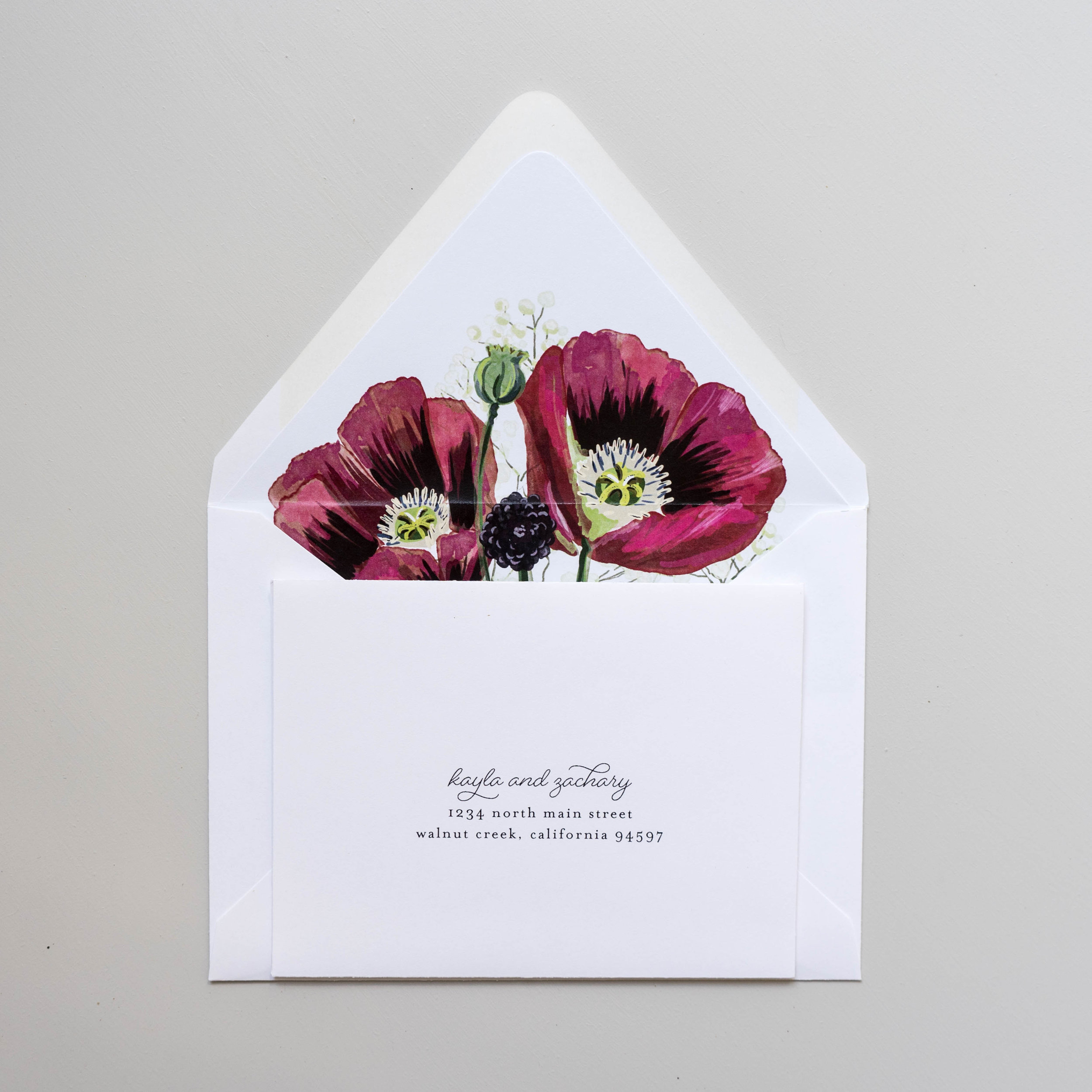 *Burgundy Poppy Wedding Invitations by Just Jurf-10.jpg