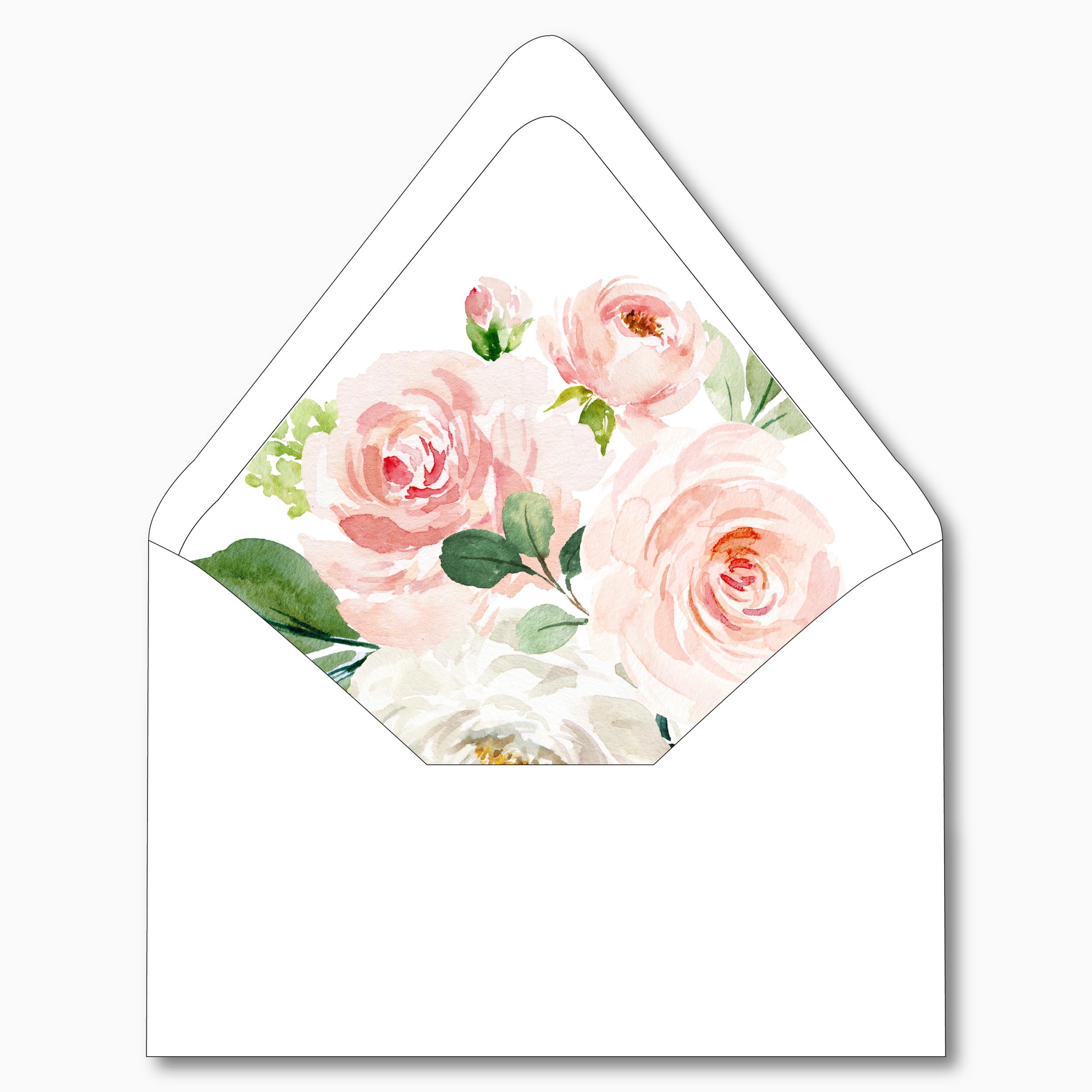 NC23 Pink Watercolor Floral