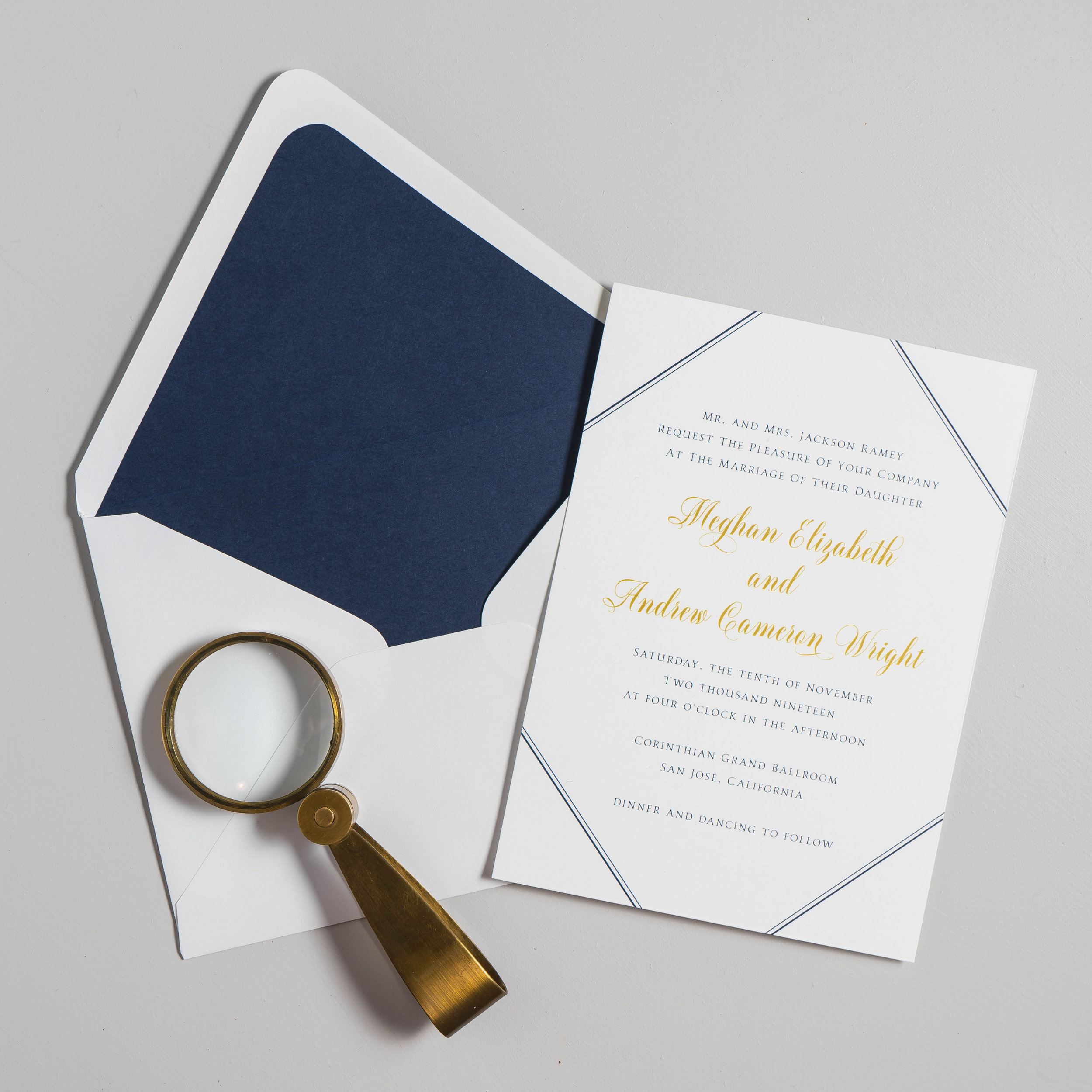 *Classic Navy & Gold Wedding Invitations by Just Jurf-11.jpg