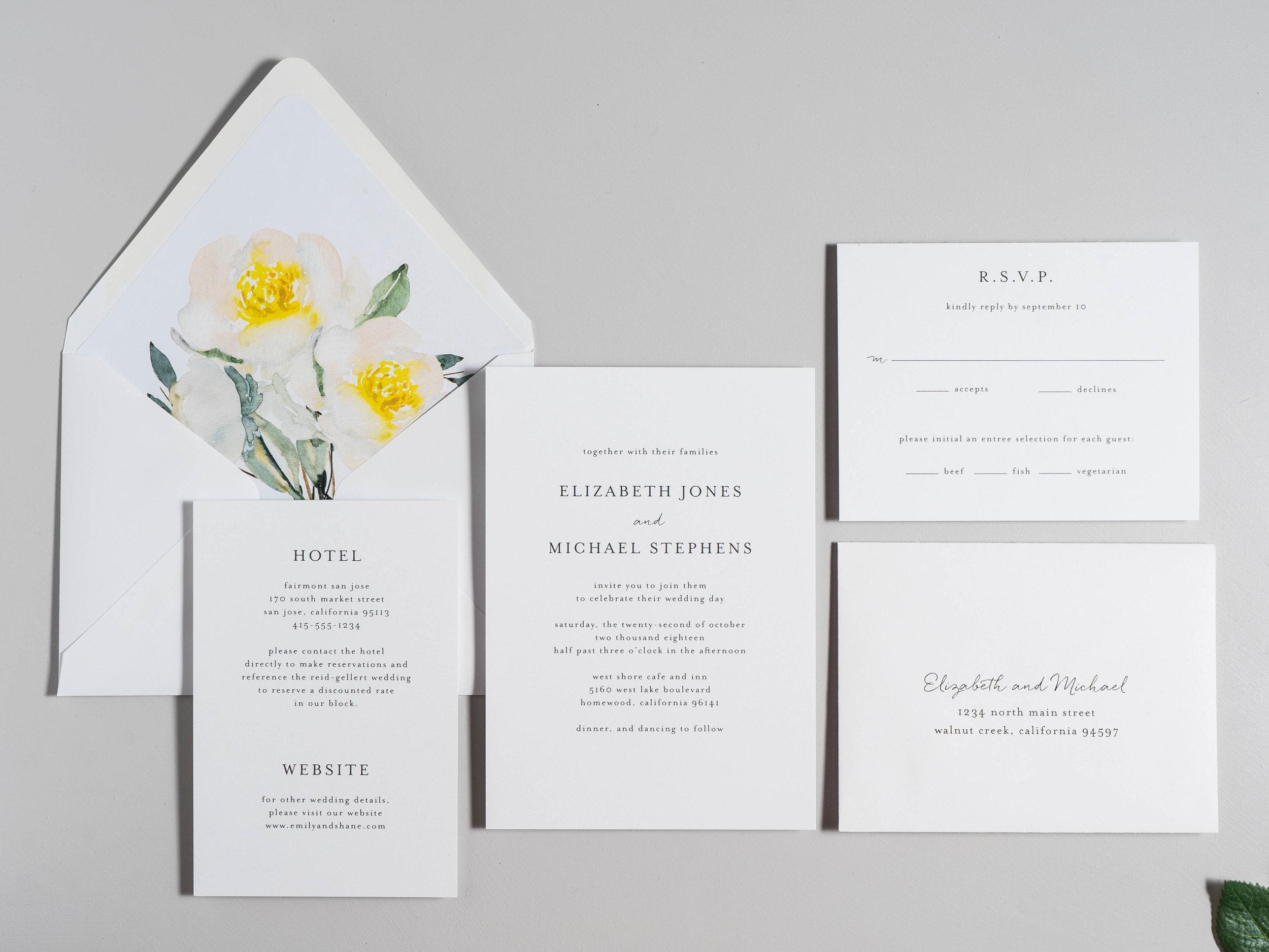 Botanical Minimalist V2 Wedding Invitations by Just Jurf-1b.jpg