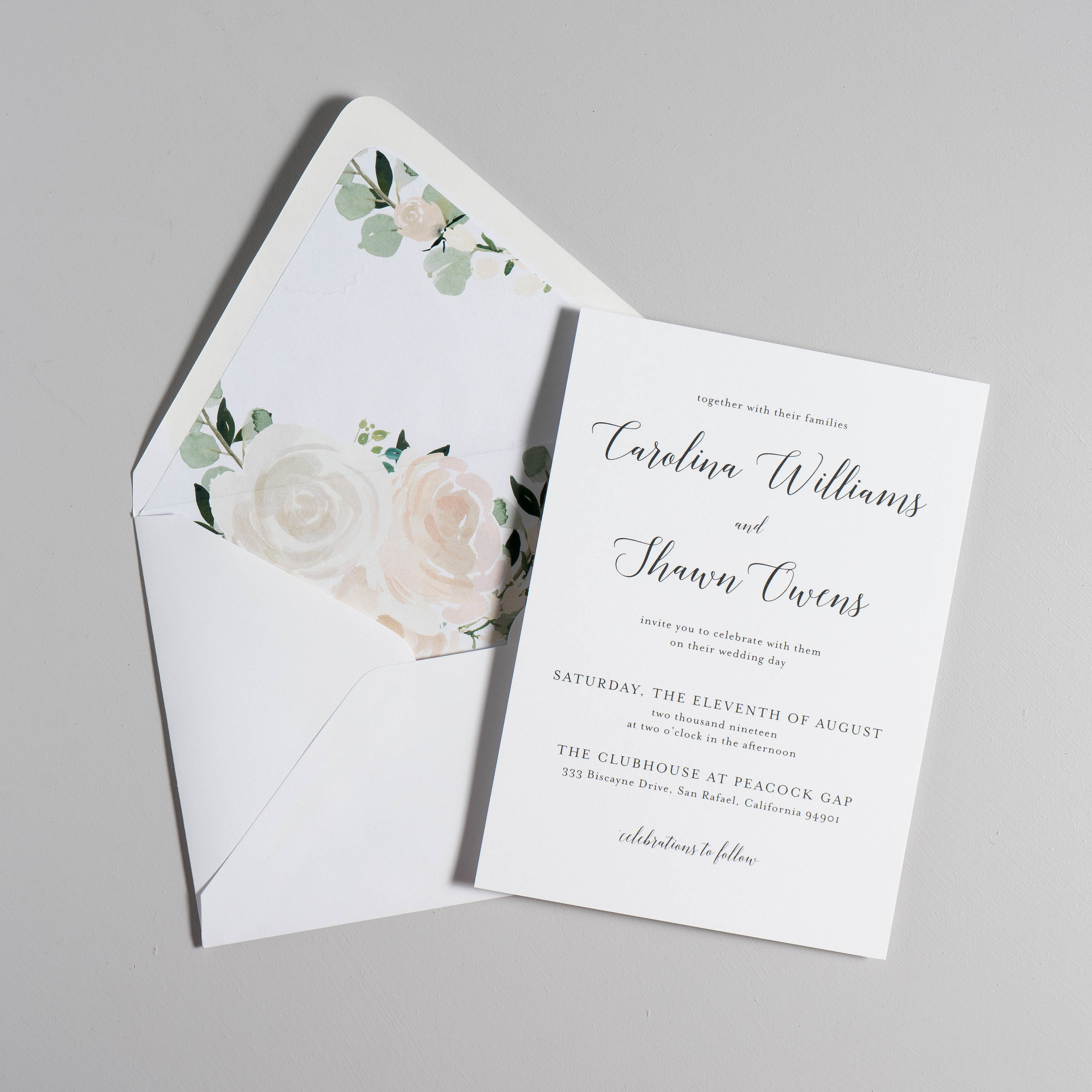 Blush Floral Calligraphy Wedding Invitations by Just Jurf-5.jpg