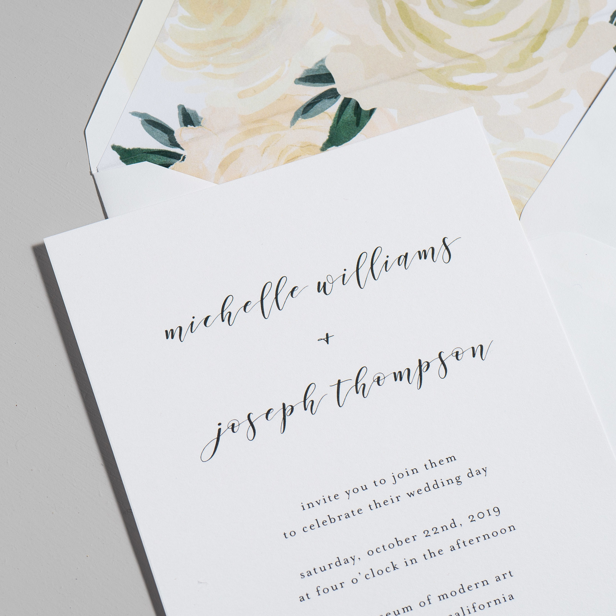 Minimalist Floral Wedding Invitations by Just Jurf-8a.jpg