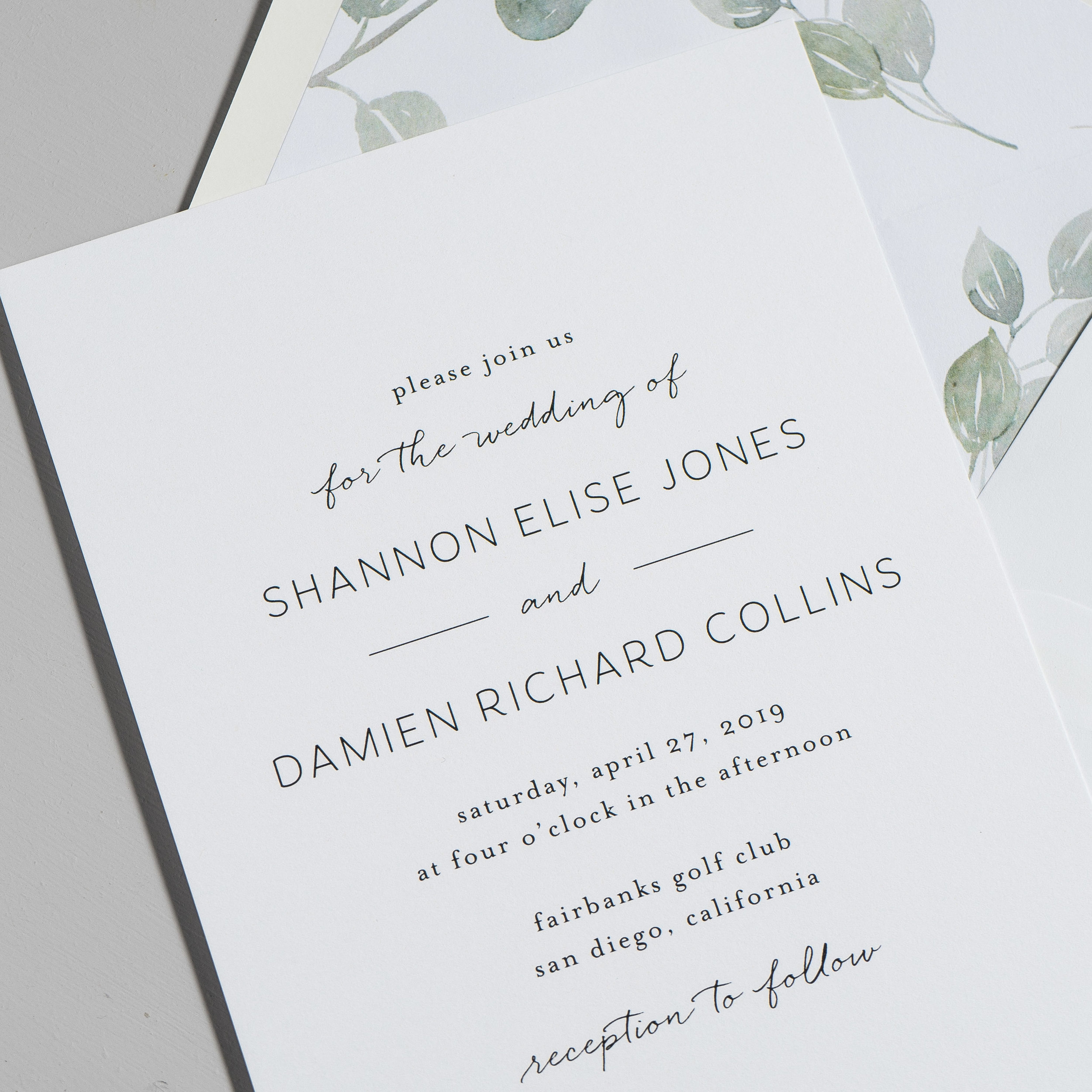Eucalyptus Minimalist V2 Wedding Invitations by Just Jurf-8.jpg