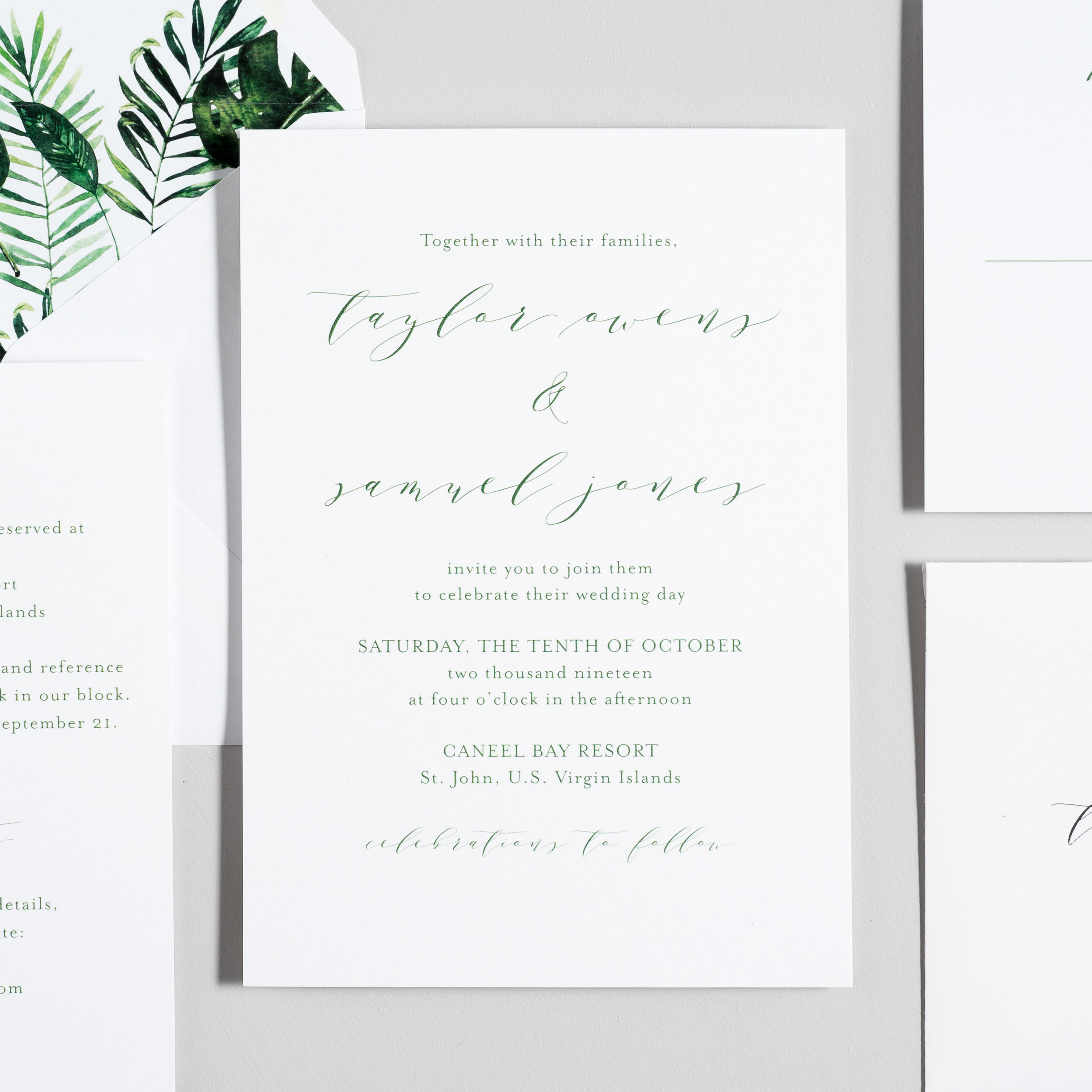 Modern Tropical Wedding Invitations by Just Jurf-2.jpg