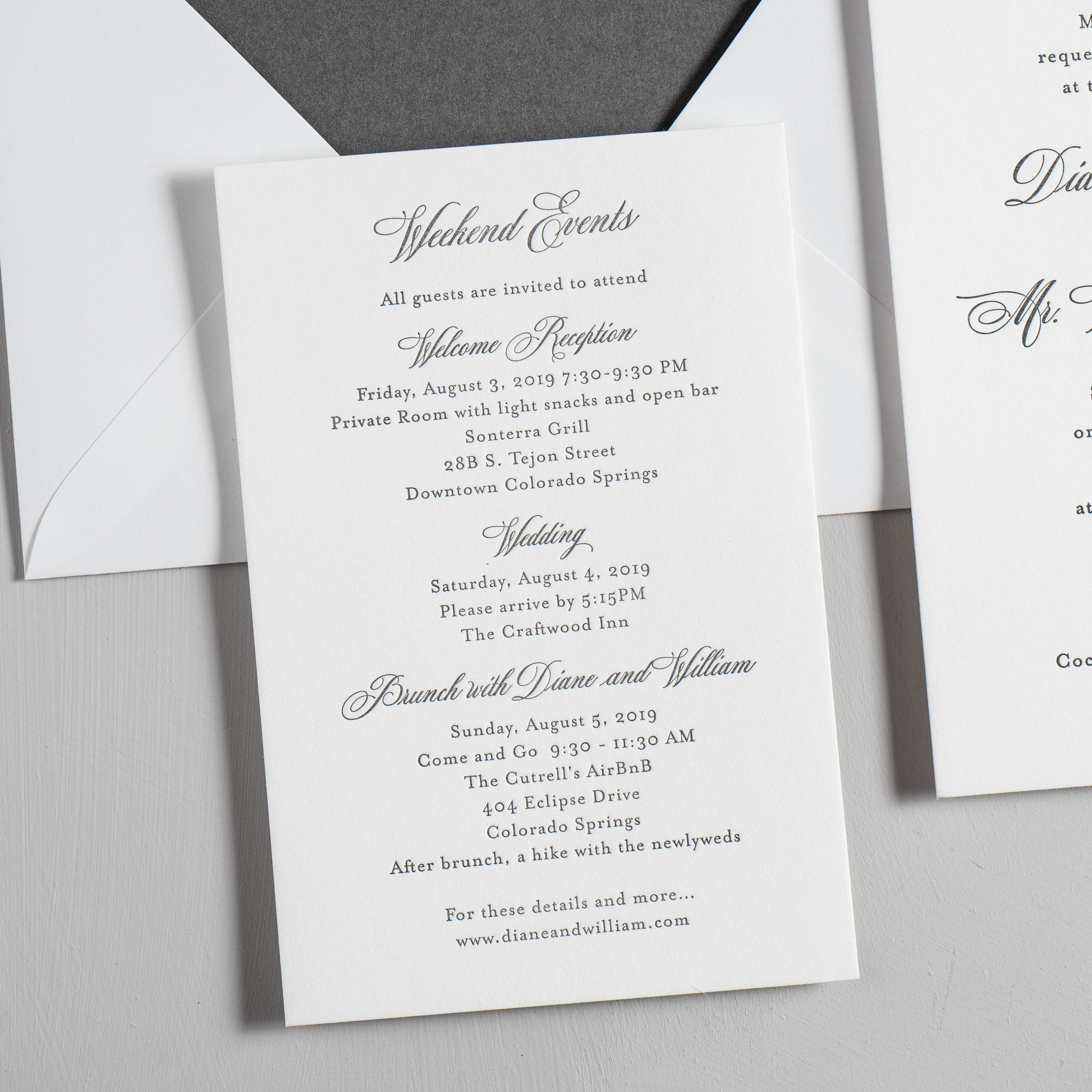 Classic Mountain Letterpress Wedding Invitations by Just Jurf-3.jpg