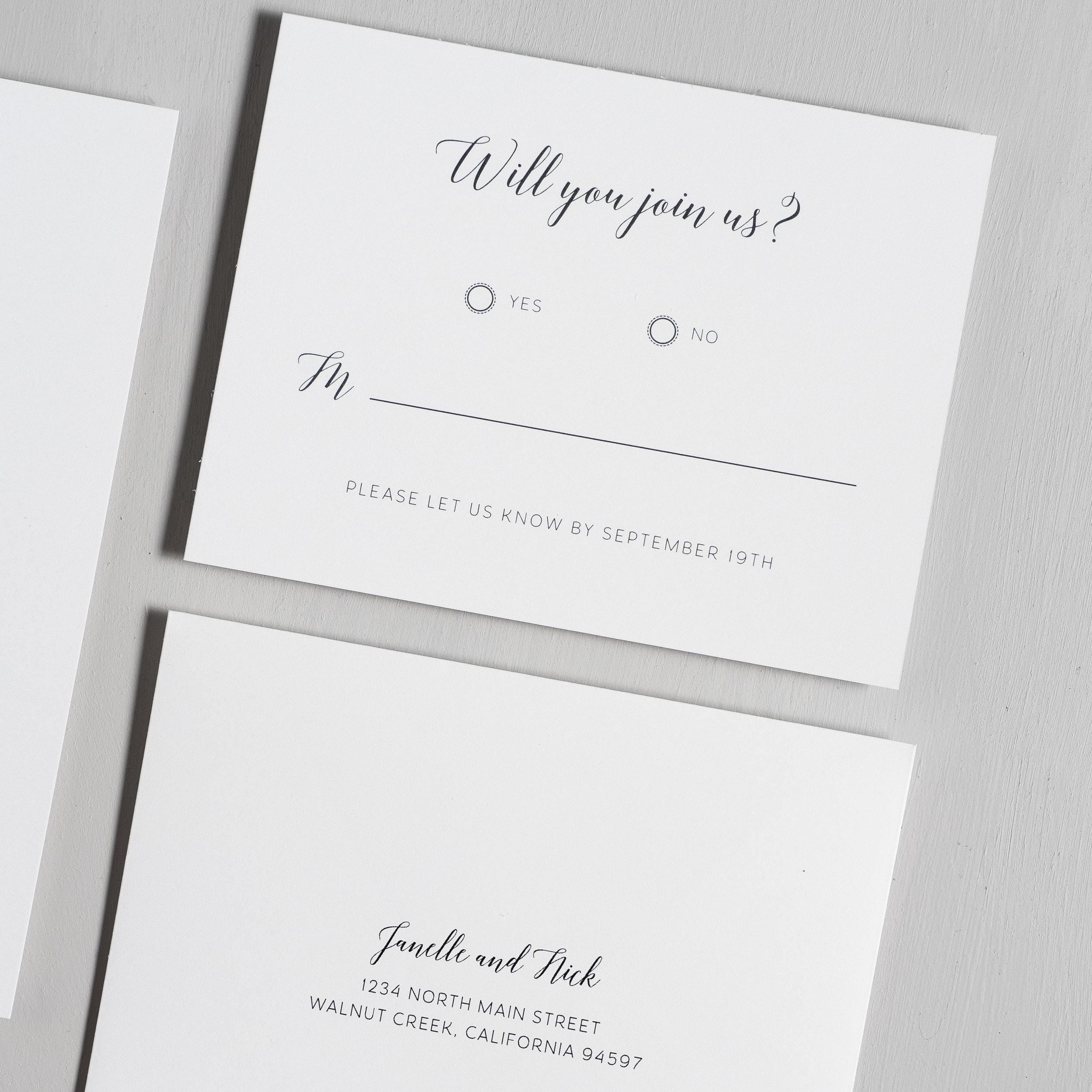 Simple Script Wedding Invitations by Just Jurf-4.jpg