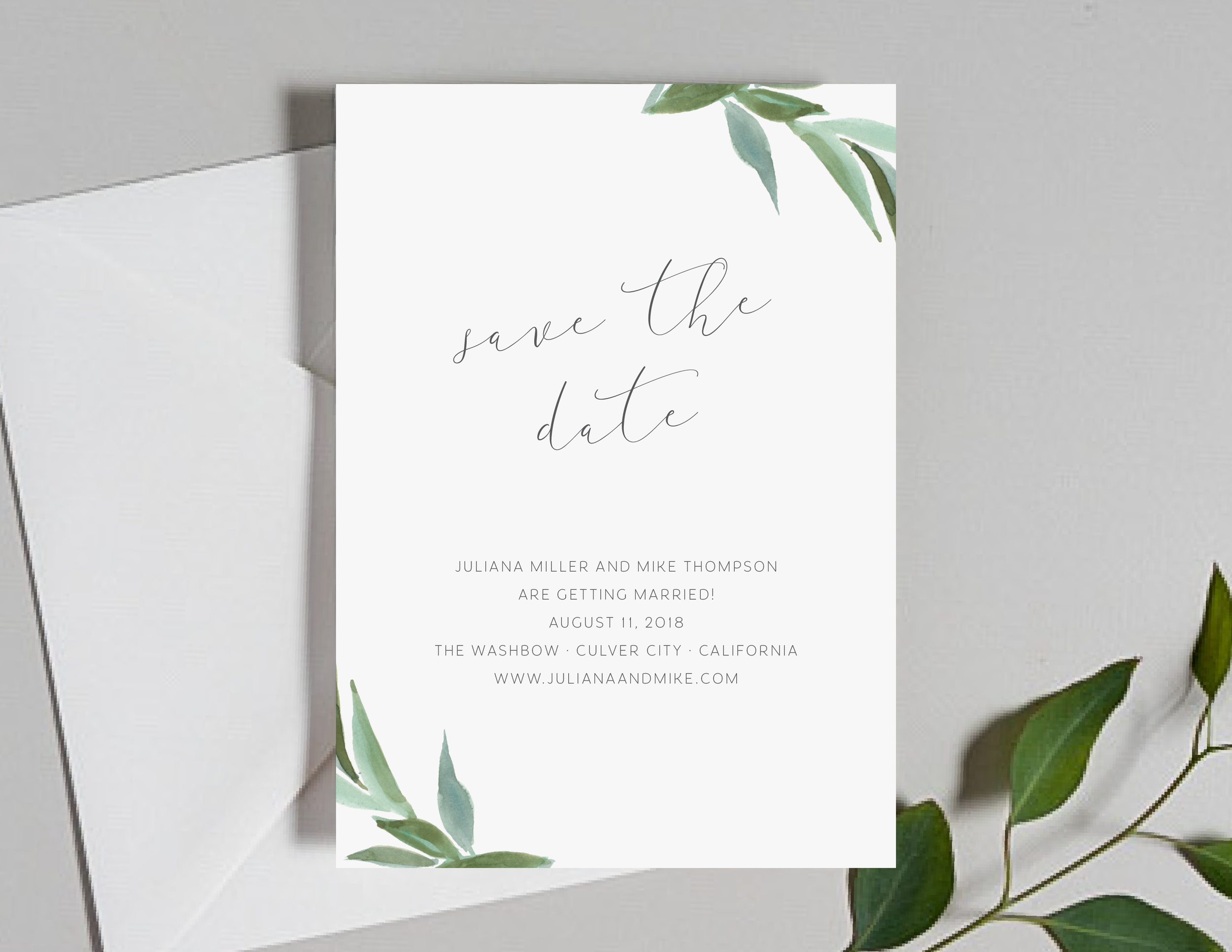 Modern Greenery Save the Dates by Just Jurf-01.png