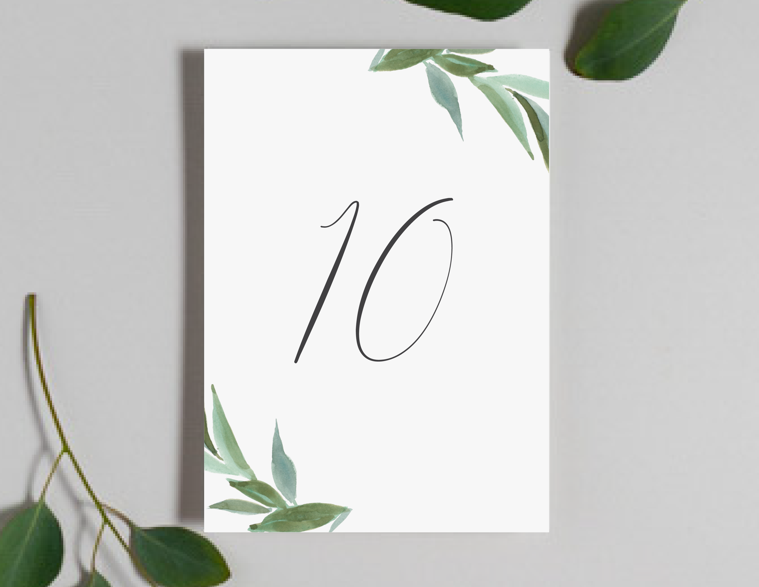 Modern Greenery Table Numbers by Just Jurf-01.png