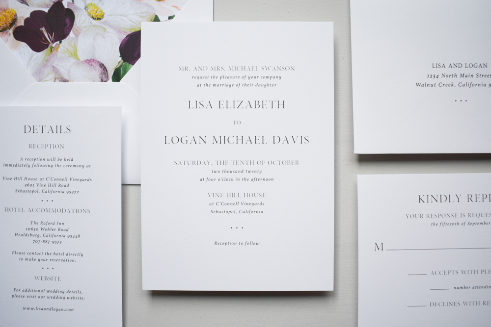 Garden Floral Wedding Invitation Suite by Just Jurf-2.jpg