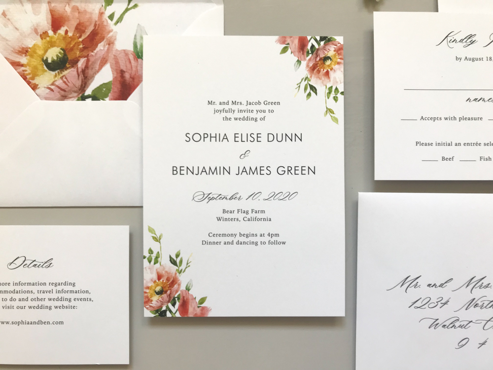 *Classic Floral Wedding Invitation Suite by Just Jurf-14.jpg