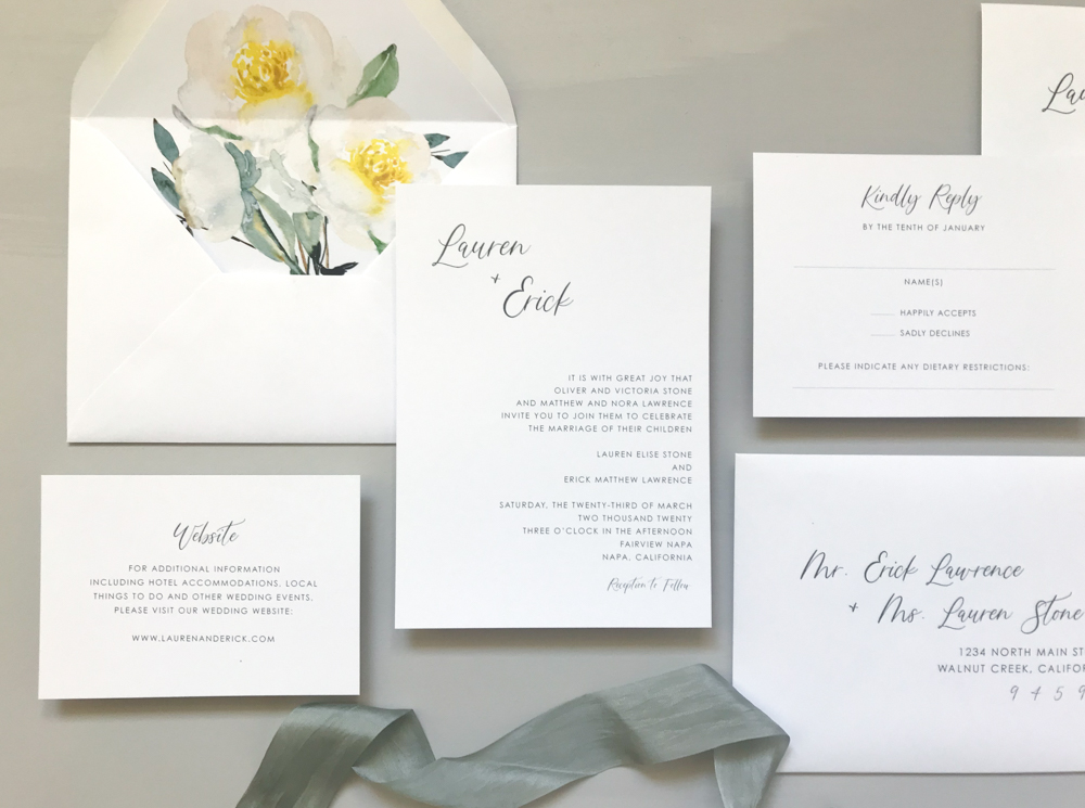 Asymmetrical Floral Wedding Invitation by Just Jurf-2.jpg