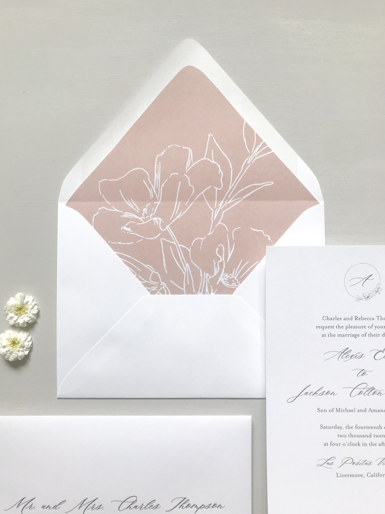 Mauve Floral Wedding Invitation Suite by Just Jurf Designs-1.jpg