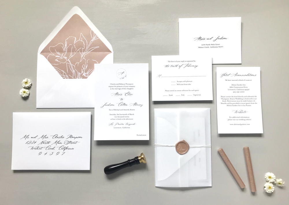 Mauve Floral Wedding Invitation Suite by Just Jurf Designs-17.jpg