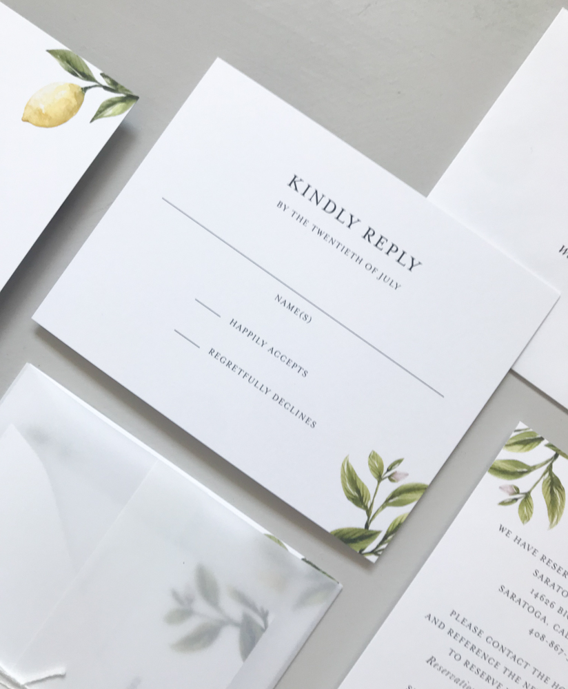 *Lemon Citrus Wedding Invitation Suite by Just Jurf-6.jpg