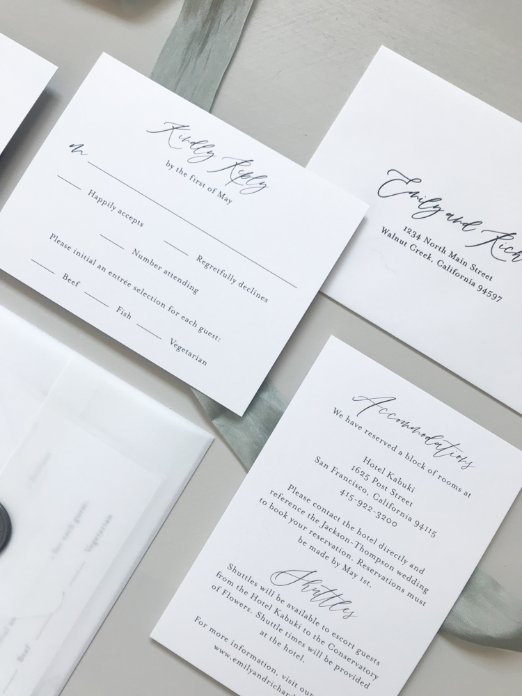 *Modern Botanical Wedding Invitation Suite by Just Jurf-10.jpg