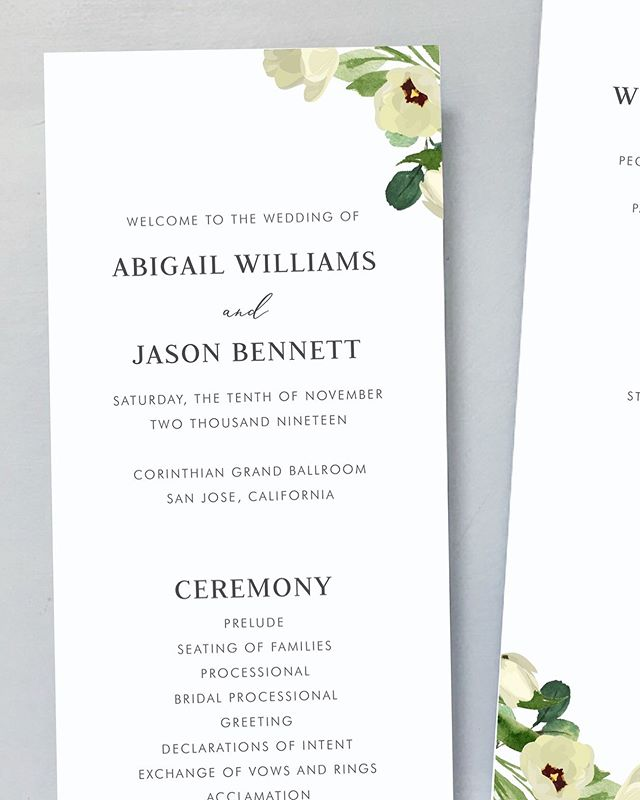 New florals for the Garden Romance suite 🌷 ⠀⠀⠀⠀⠀⠀⠀⠀⠀ #weddinginvitations #newdesign #designaweek #weddingstationery #weddingprogram #weddingprograms #weddingceremony #floralwedding #poppywedding #outdoorwedding #outdoorweddings #weddingseason #fallwedding #summerwedding #springwedding #winterwedding #californiawedding #cawedding #sfwedding #lawedding #texaswedding #savethedate #savethedates #bridetobe #engaged #brides #minimalistwedding #simplewedding #weddingdetails #weddinginspo
