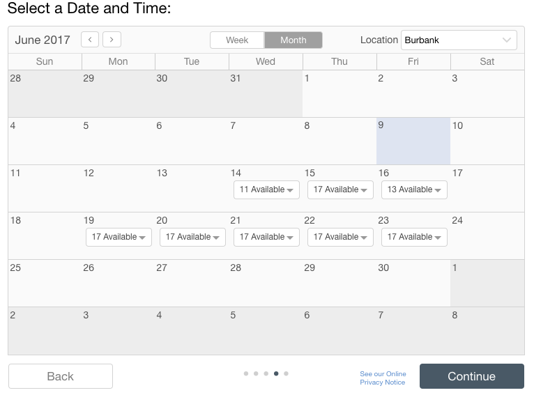 Figure 2 - Timetrade automates the scheduling process
